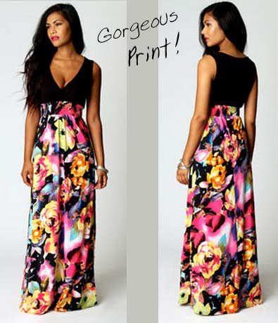 Kiera Rose Maxi Dress