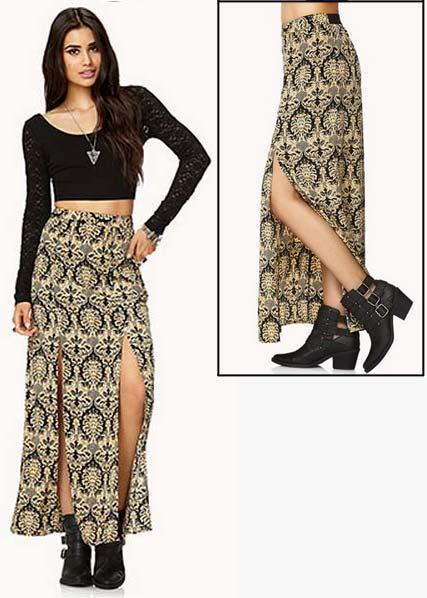 M-Slit Skirt